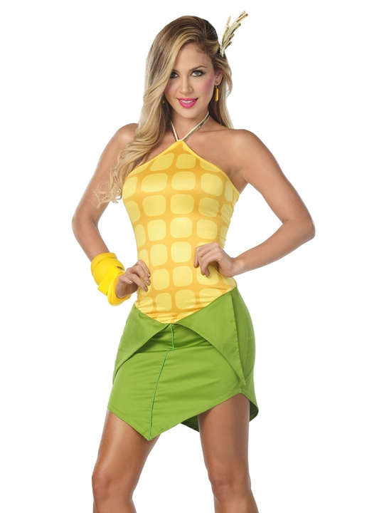 Halloween costumes, sexy corn on the cob, October 2012