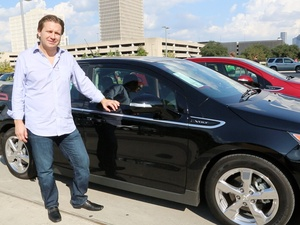 Joel, Chevy Volt test drive, November 2012, Chad Miller