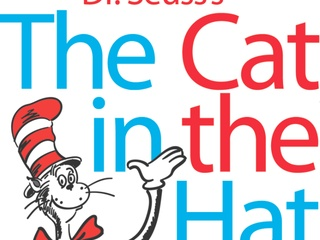 Logo for Dr. Seuss's The Cat in the Hat