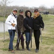 Elizabeth Blakemore, from left, Laurie Morian, Windi Grimes and S.J. Swanson at The Fine Art of Shooting March 2015