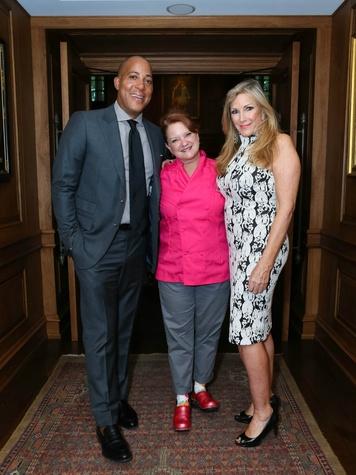 Robert Weatherly, Chef Janice Provost, Karen Luter