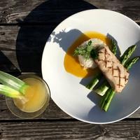 District Kitchen and Cocktails fish dish drink Austin restaurant