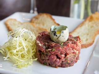 Blackbird and Henry smoked salmon rillette appetizer Austin restaurant