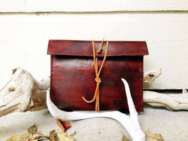 Abbie Drue Designs leather purse