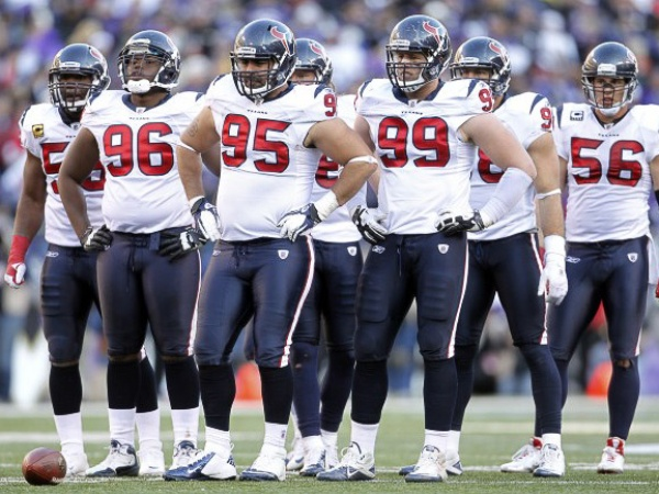 J.J. Watt, Texans defense, football players