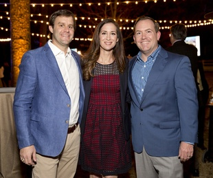 Houston, Memorial Park Conservancy Picnic for the Park, February 2018, Sam Seidel, Shannon Robinson, Justin Robinson