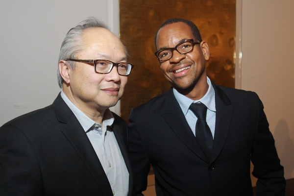 The Menil 25th anniversary gala, December 2012, Mel Chin, Lyle Ashton Harris