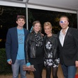 5 4037 Andy and Kourtney Cyrus, from left, and Jennifer and Michael Hanson at Club Berlin Baker Institute party November 2013