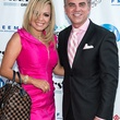 In the Pink of Health VIP party in The Woodlands October 2013 Elena and Richard van der Dys