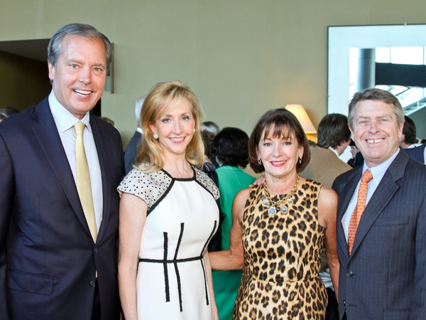 Salvation Army luncheon, November 2012, David Dewhurst, Tricia Dewhurst, Cathy Cleary, Joe Cleary