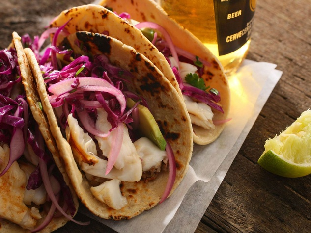 Quality Seafood Market fish tacos