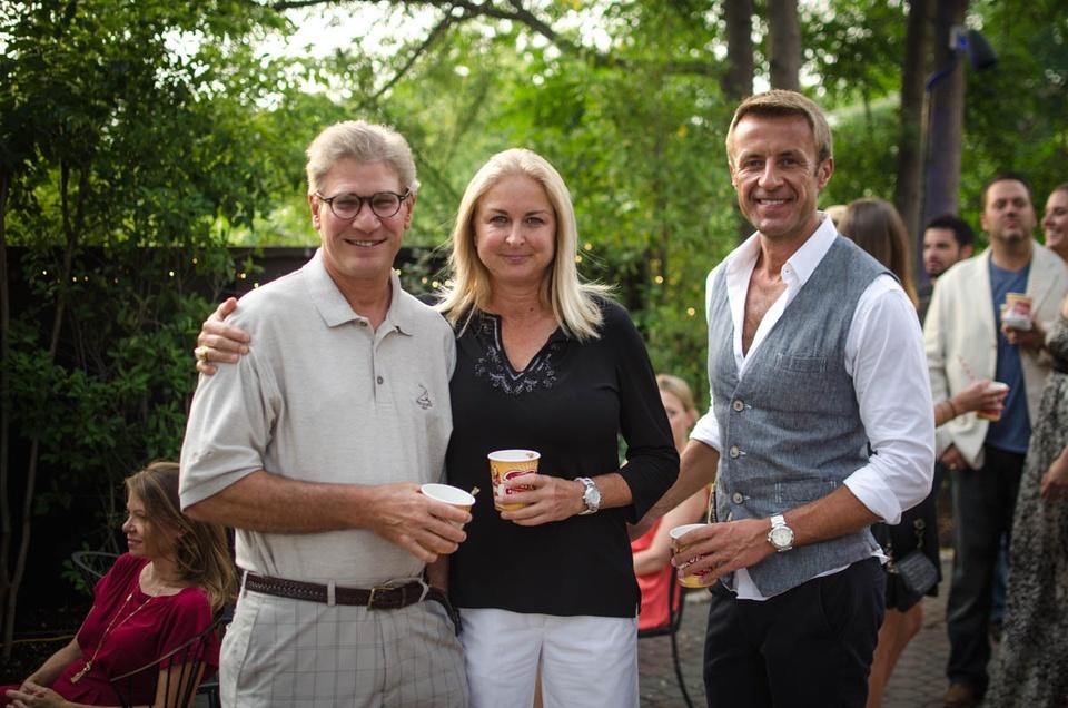 Charitybash Benefit Mark and Shanna Koler and Jarek Ostapowicz