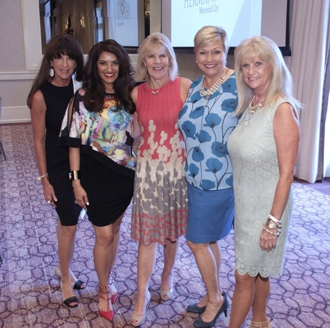 Women Driving Business 9/16 Sarah Cain, Dr. Shelena C. Lalji, Connie Inman, Terry Ammerman, Jeannie Bollinger