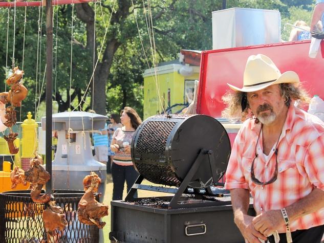 Jack Gilmore Fire Pit Austin Food + Wine Fest