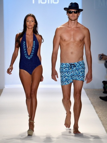Mercedes-Benz Fashion Week 2014 swim in Miami July 2013 Naila