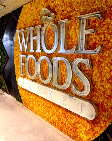 Whole Foods Domain signage