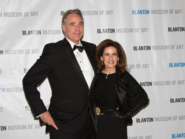 Blanton Art Museum Off The Wall Gala 2015 UT Athletic Director Steve Patterson