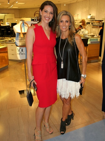 Shelly Slater, Shea Boscamp, CCB 10 Best Dressed Luncheon