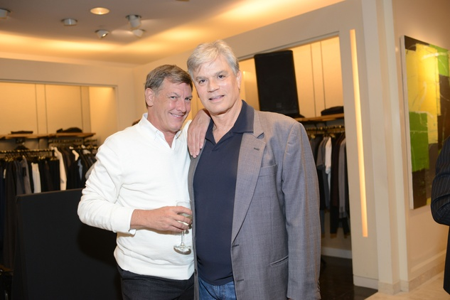 14 Neal Hamil, left, and Nixon Wheat at the Neiman Marcus Men's Fall Trend Event September 2014