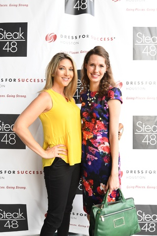Steak 48 Opening dinners, 6/16, Kathryn Brumley, Shannon Higgins