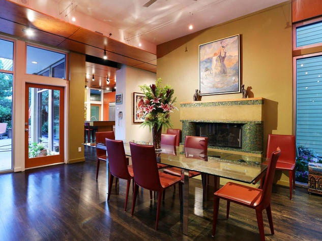 On the Market 2603 Hopkins St. September 2014 dining room to kitchen
