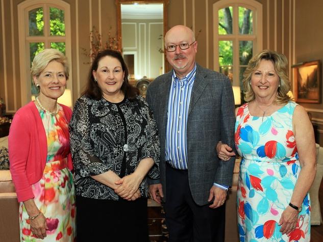 Suzy Rhodes, Barbara Hunt Crow, Alan Rister, Bettye Slaven, Flora Award Announcement Party