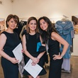 9 Heshi Amin, from left, Tanaz Jabbari and Hasti Taghi at the Amir Taghi launch May 2014