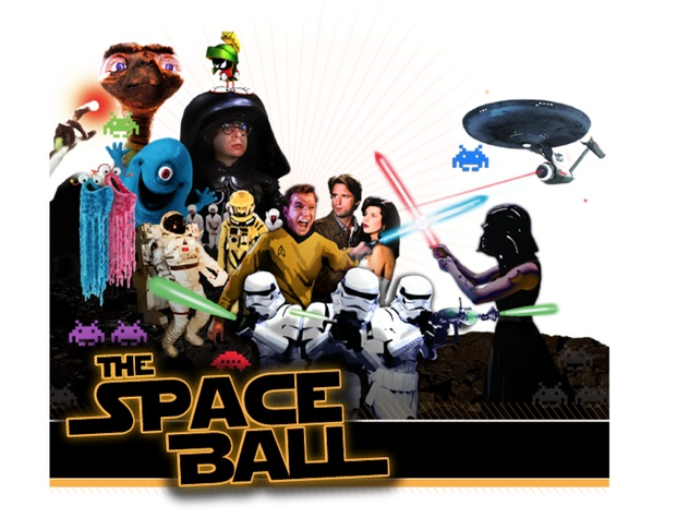 """""""The Space Ball"""" benefiting Fresh Arts"""