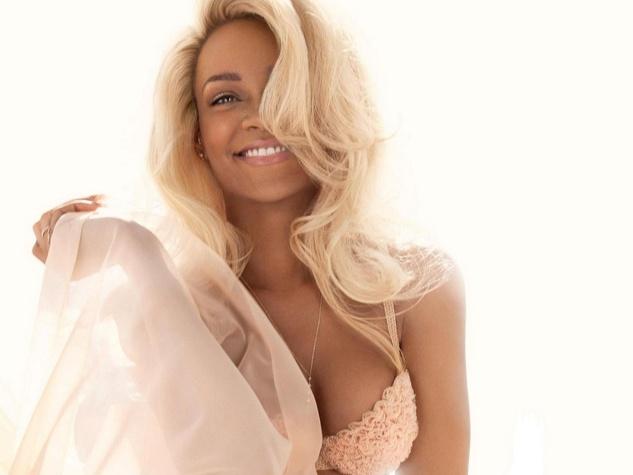 Rihanna head shot Nude fragrance perfume