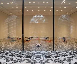 yoga_Rice Gallery_Gunilla Klingberg_Wheel of Everyday Life