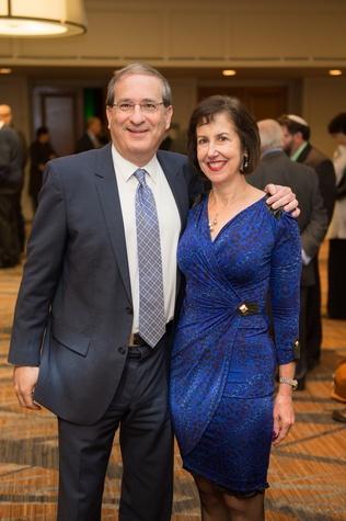 20 Michael and Carol Goldberg at the Guardian of the Human Spirit luncheon November 2014