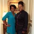 Dawn Mann, Chef Trina Nelson, Flora Award announcement party