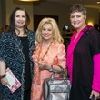 Sylvia Forsythe, Sidney Faust, Tamara Bonner at Memorial Hermann Razzle Dazzle luncheon