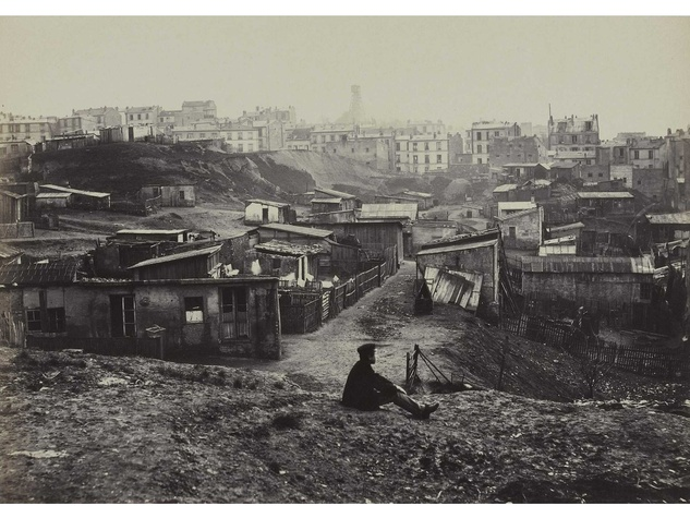 Charles Marville Photographer of Paris at MFAH June 2014 Haut de la rue Champlain