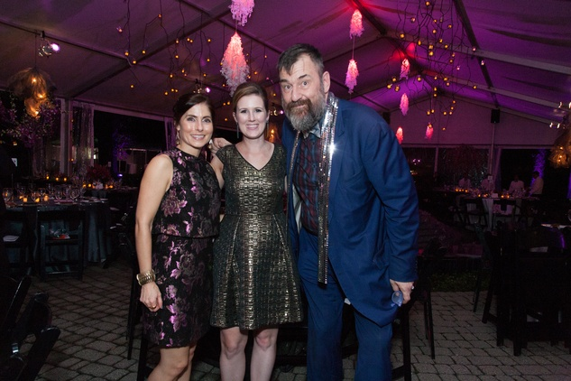 News, Shelby, CAMH Another Great Night, Nov. 2015, Amber Winsor, Amanda Bredbenner, Bill Arning