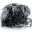 Tadashi Shoji helmet for Bloomingdale's Fashion Touchdown
