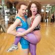 Erica Nix with Richard Simmons