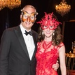 News, Shelby, Houston Ballet Ball, masks, Phoebe Tudor, Bobby Tudor, February 2015
