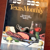 Texas Monthly top 50 barbecue cover