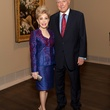 15 Margaret Alkek Williams and Jim Daniel at the MFAH Impressionism dinner December 2013