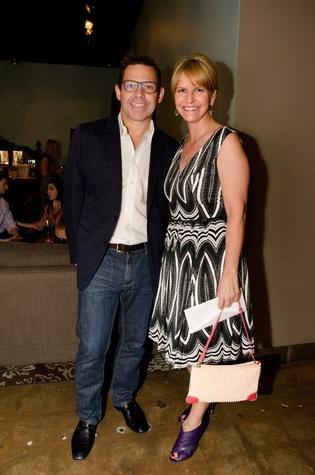 John Tesar and Erin Cihak, foodiepalooza