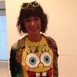 Geraldine Chaplain in Sponge Bob T-shirt