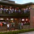 Dogwood bar Houston exterior with crowd
