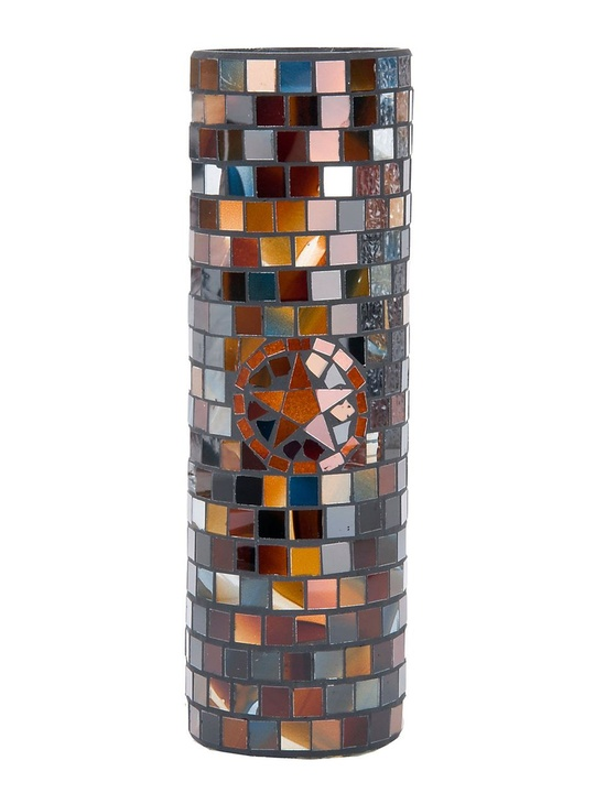 Rodeo Quick Fix March 2014 M&F Western Products Mosaic Star Tall Candle Vase