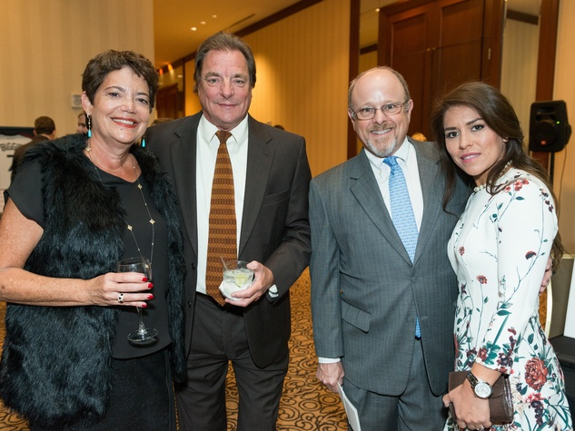Crime Stoppers Gala Ellen and Steve Robinson, Kenneth Lewis and Carla Diaz