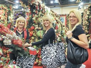 008, Nutcracker Market Saks luncheon, November 2012, Elva Hollenshead, Karen Banister, Cheryl Wheeler