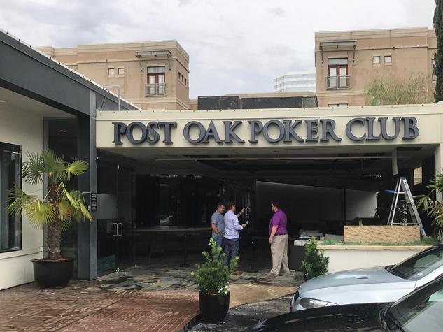 Post Oak Poker Room exterior