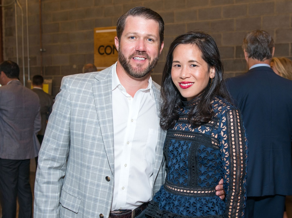 Houston, Game Day Gala, April 2017, Ryan Fleck, Stephanie Fleck
