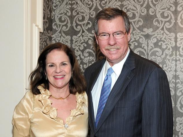 20 Laura Gibson and Bill Ogden at the Houston Bar Association Harvest Celebration November 2013