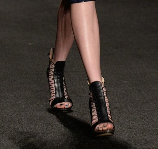 Monique Lhuillier stiletto sandal